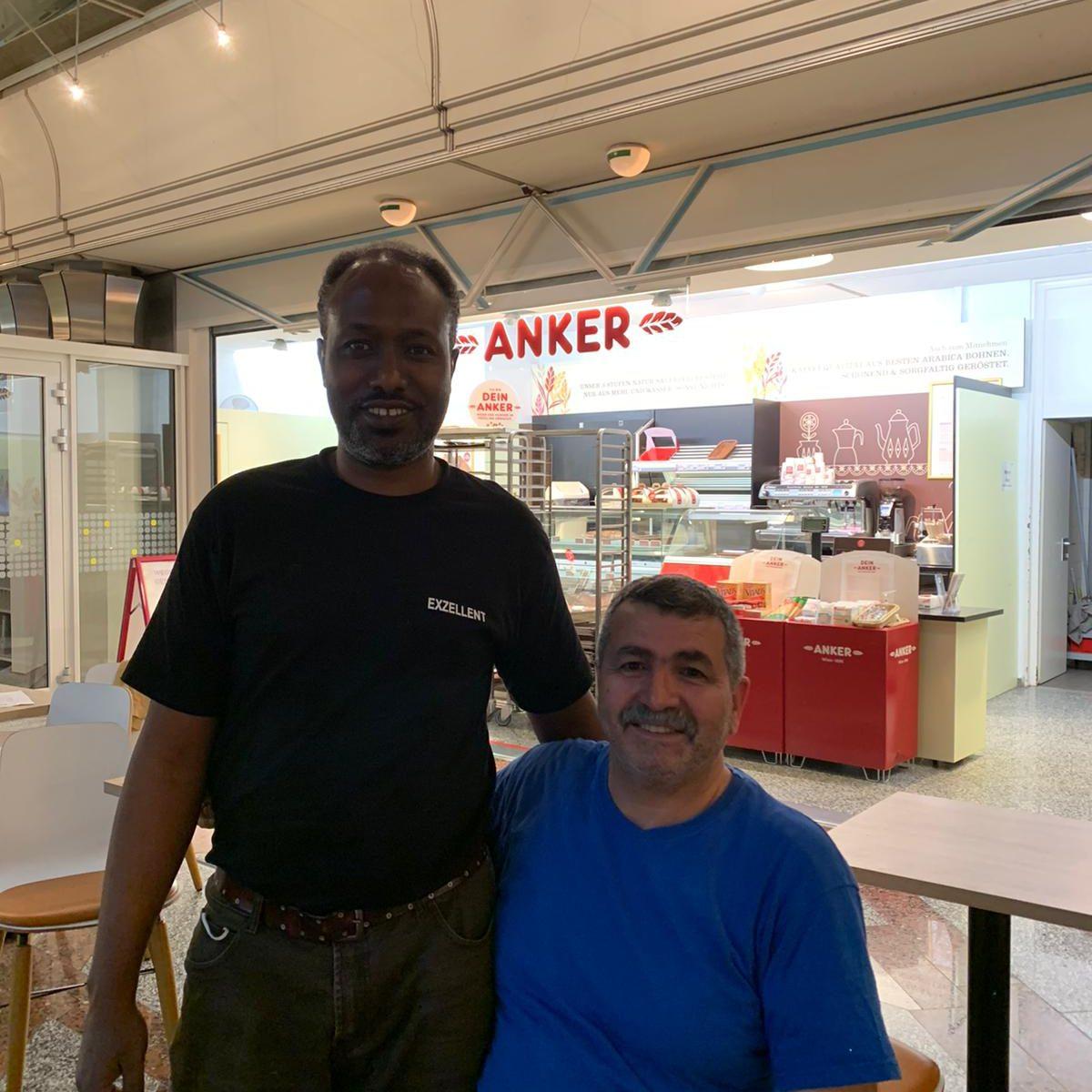 Herr Andak und Mitarbeiter